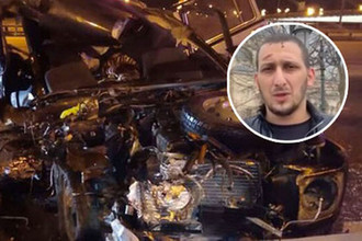 Вышел из шока: виновник ДТП сдался полиции после призыва Кадырова