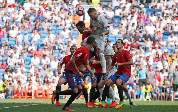 Мадридский «Реал» играет в гостях против памплонской «Осасуны»