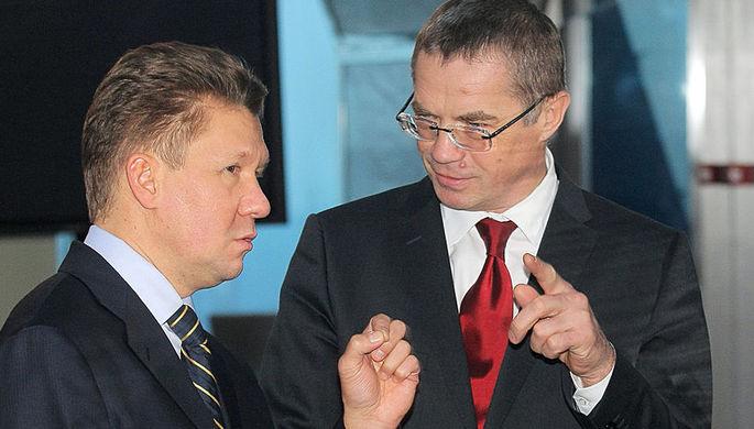 Алексей Миллер и Александр Медведев, 2008 год