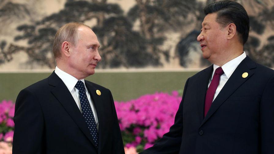 Путин и Си Цзиньпин провели телефонные переговоры
