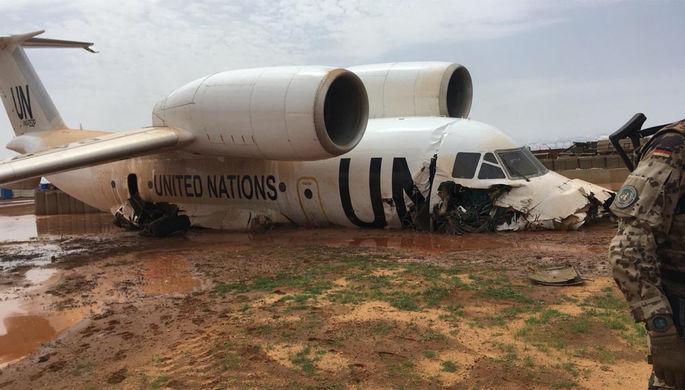 Развалился на части: в Индии Boeing 737 совершил жесткую посадку
