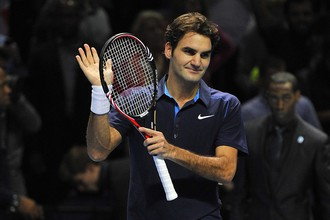 Роджер Федерер досрочно вышел в полуфинал итогового турнира АТР