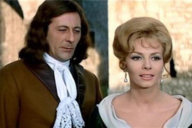 Жан Рошфор и Мишель Мерсье. Кадр из фильма «Анжелика и король» (1965)
