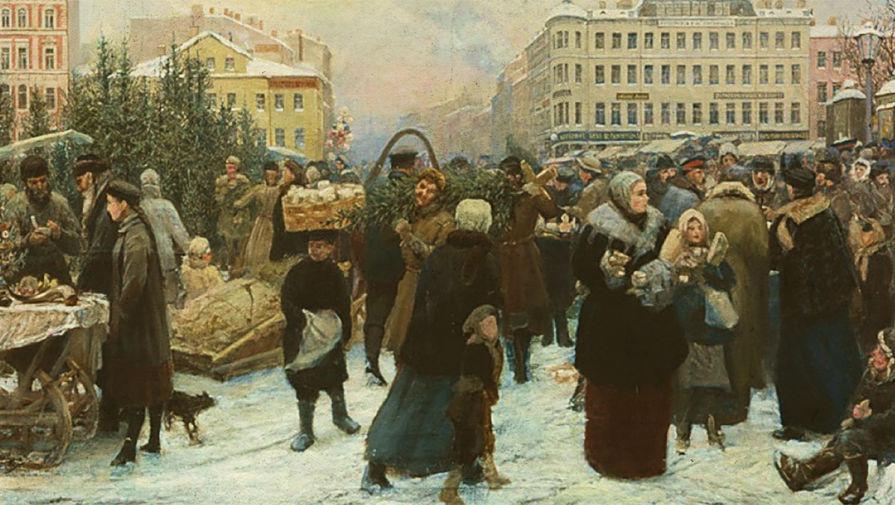 Как в России праздновали Новый год после отмены крепостного права