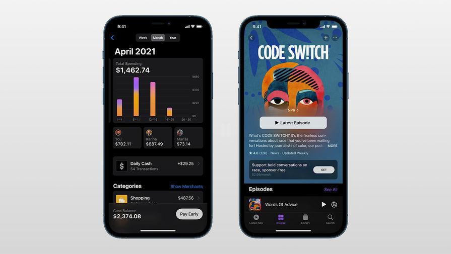 Во время весенней презентации Apple, 20 апреля 2021 года