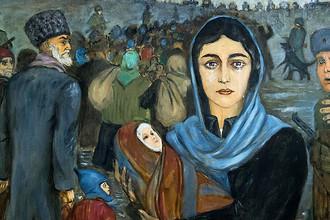 Х.А. Имагожев. Изгнание. 1994