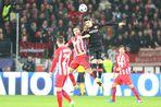 «Атлетико» на выезде обыграл «Байер» в первом матче 1/8 финала Лиги чемпионов