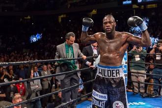 Чемпион мира по боксу по версии WBC в супертяжелом весе Деонтей Уайлдер