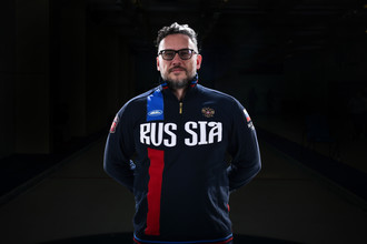 Старший тренер сборной России по керлингу в дисциплине дабл-микст Василий Гудин.