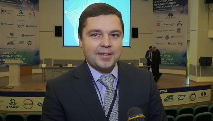 Экс-чиновник Минпромторга Владимир Потапкин (кадр из видео)