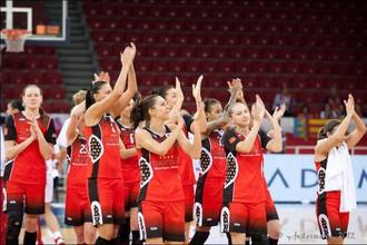 Баскетболистки «Спарты энд к» переиграли польскую «Вислу» в Евролиге