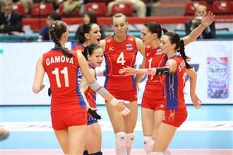Женская сборная России обыграла кубинок