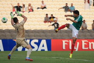Иван Очоа дублем вывел Мексику в финал юношеского чемпионата мира