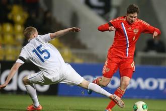 Российская молодежка обыграла Эстонию