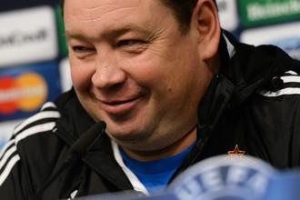 Наставник ЦСКА Леонид Слуцкий надеется сыграть против «Баварии» более качественно, чем в первом матче