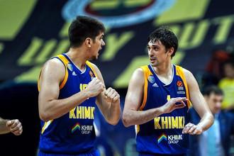 «Химки» сыграют с «Бамбергом» в рамках баскетбольной Евролиги