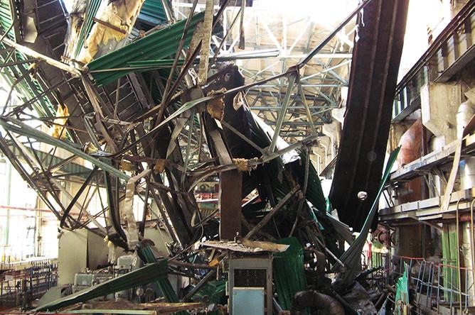 Последствия взрыва на ТЭЦ в Пензе