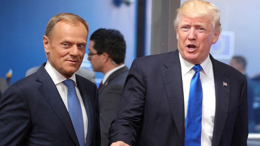 Туск призвал США, Россию и Китай не начинать торговые войны