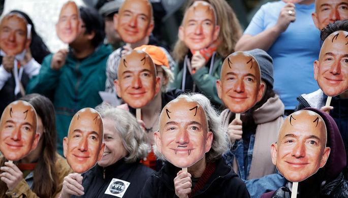Axios: из-за скандала с главой Amazon борьба с «фейк ньюс» перешла в офлайн