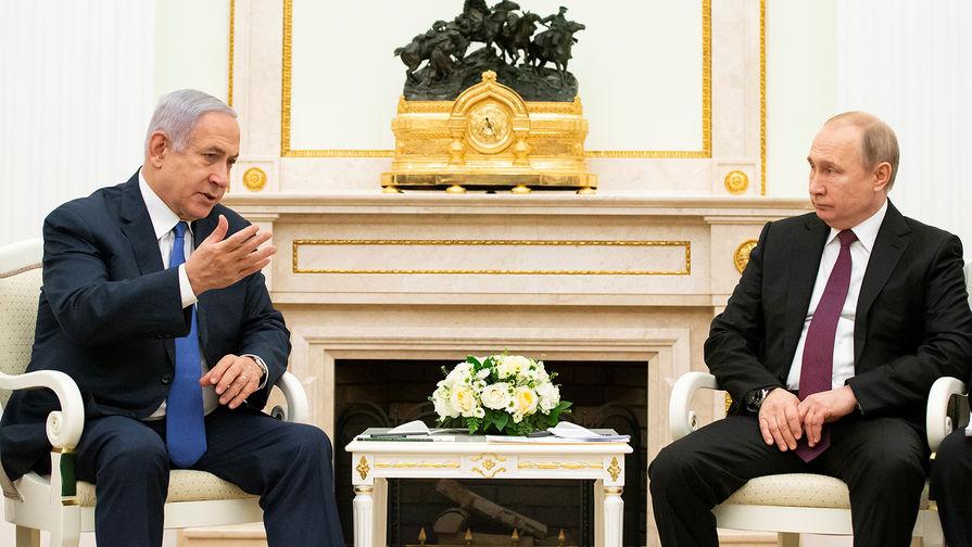 Разговор с Путиным: Нетаньяху рассказал о визите на Украину