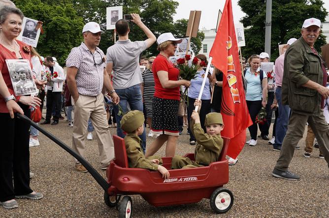 Акция «Бессмертный полк» в Вашингтоне, 4 мая 2019 года