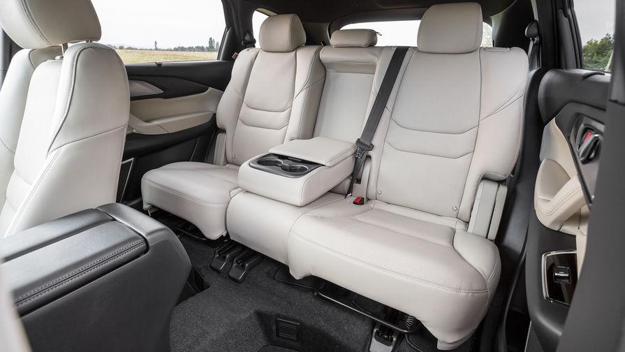 У Mazda CX-9 есть подогрев руля, а также подогрев зоны покоя щеток и зоны у стойки. Проекция на...
