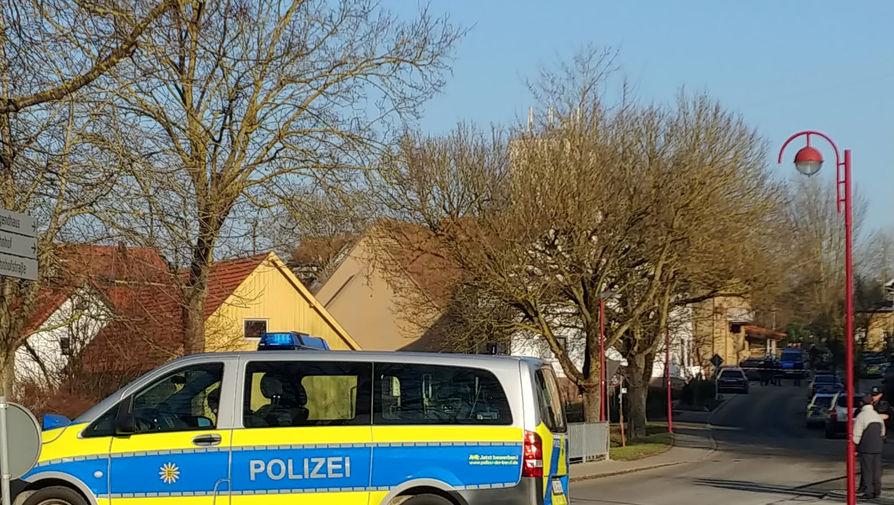 Ситуация в немецком городе Рот-ам-Зе, где при стрельбе погибли шесть человек, 24 января 2020 года