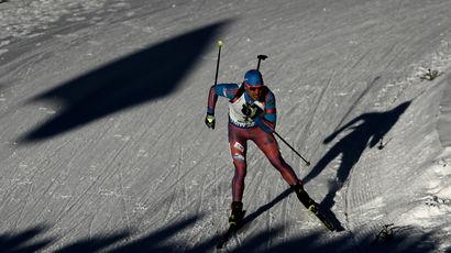 Сборная России взяла бронзу в эстафете на Кубке мира по биатлону