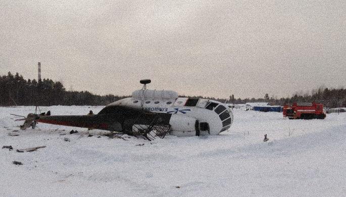 Вертолет Ми-2 экстренно сел в Татарстане