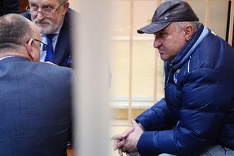 Советник гендиректора «Газпром межрегионгаз» Рауль Арашуков во время заседания Басманного суда Москвы, 31 января 2019 года