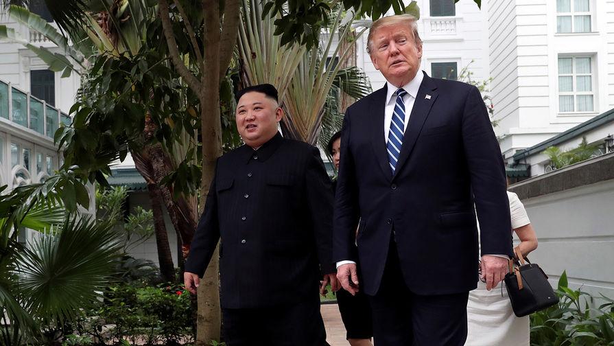 Трамп заявил, что «очень доволен» Ким Чен Ыном