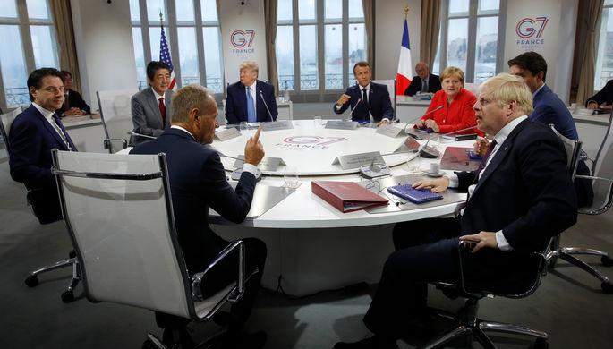 Япония против: кто не хочет видеть Россию в G7