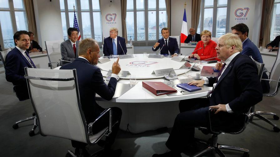 Главы МИД стран G7 обсудят взаимоотношения с Россией