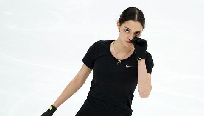 Анна Щербакова и Александра Трусова