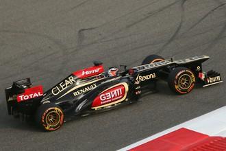 Кими Райкконен на трассе Гран-при Бахрейна