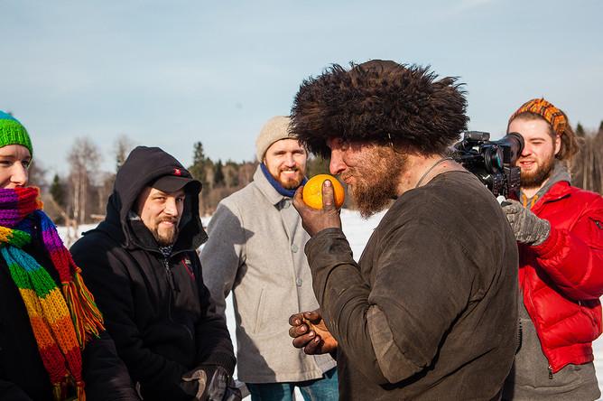 Сапог встречается с журналистами в день открытых дверей