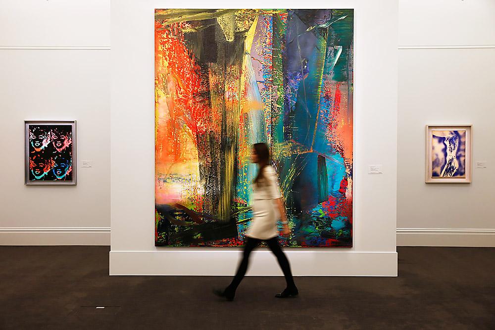 Картинки по запросу герхард рихтер абстрактная картина