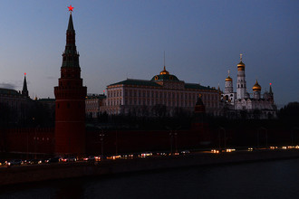 В рамках всемирной акции «Час Земли» Московский Кремль погрузится во тьму