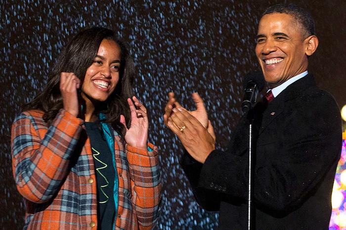 TMZ: дочь Обамы снялась в музыкальном клипе