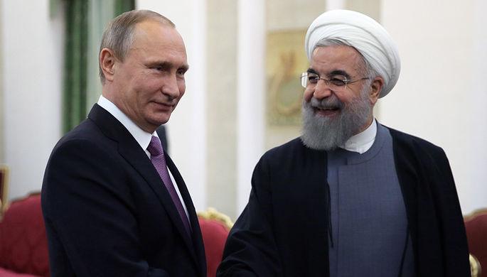 Путин обсудил с Роухани ракетный удар по Сирии