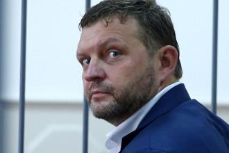 Губернатор Кировской области Никита Белых во время рассмотрения ходатайства следствия об избрании меры пресечения