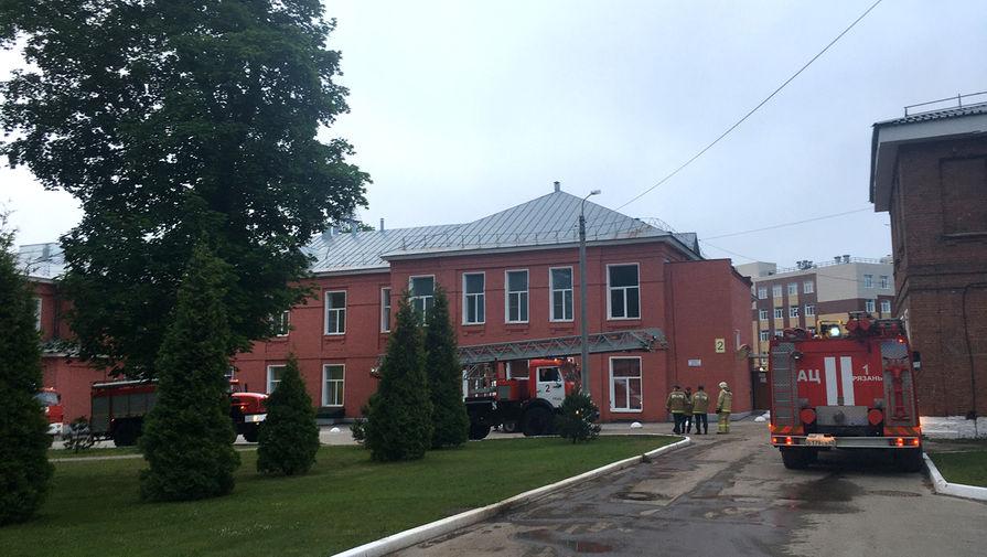 При пожаре в рязанской больнице погибли 3 человека