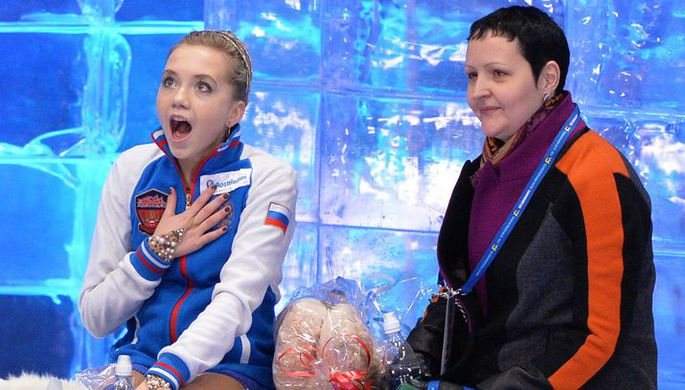 Инна Гончаренко и Елена Радионова
