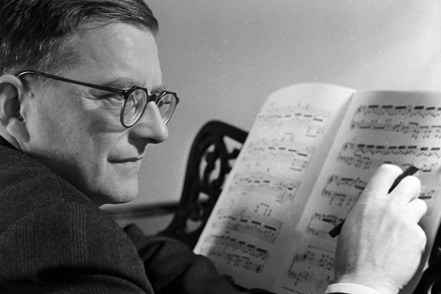 Композитор Дмитрий Шостакович (1906 — 1975)