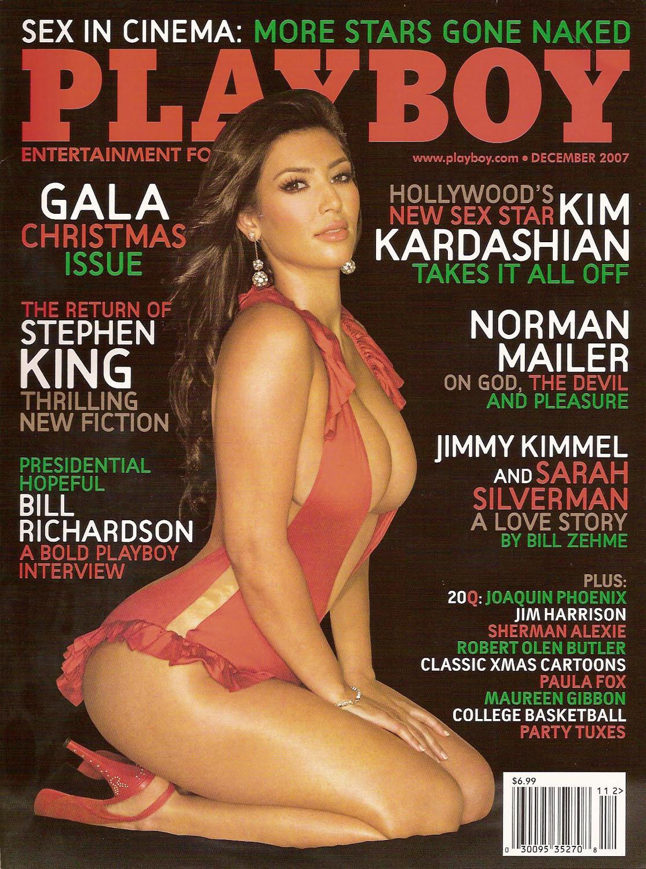 Ким Кардашьян на обложке Playboy, 2007 год
