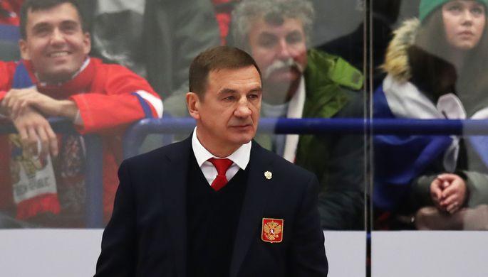 Главный тренер сборной России по хоккею Валерий Брагин