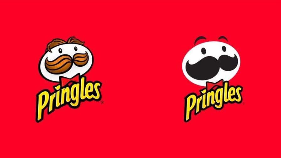 В Pringles обновили логотип на упаковке чипсов впервые за 20 лет