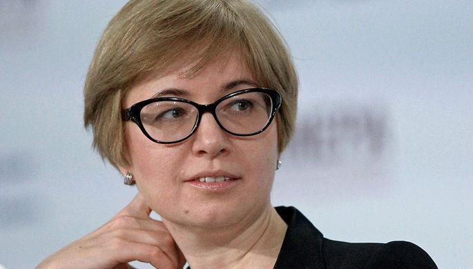 Первый заместитель председателя Центробанка Ксения Юдаева