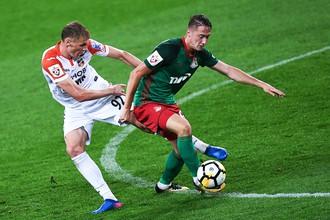 «Локомотив» сыграл вничью с «Ахматом» на выезде