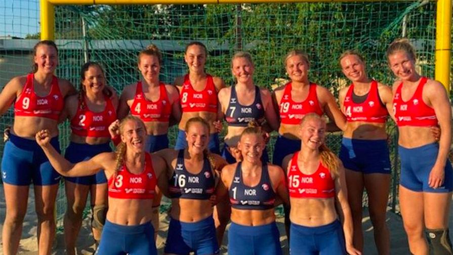 В Федерации гандбола Норвегии надеются, что пляжницам разрешат играть не в бикини